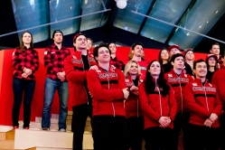Athlete Celebrations in Canada Olympic House